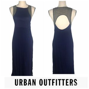 Staring At Stars Urban Outfitters Navy Maxi Dress